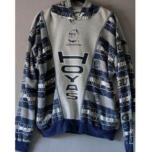 VTG | Georgetown Hoyas | Mens L | 1993 Hoodie